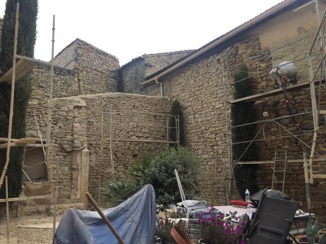 Arnaud Façades en images - Chantier Rénovation extérieure dans un Mas dans le Gard